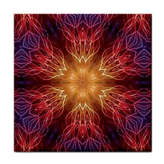 Fractal Abstract Artistic Tile Coasters