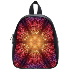 Fractal Abstract Artistic School Bag (small) by Sapixe