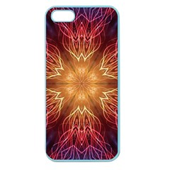 Fractal Abstract Artistic Apple Seamless Iphone 5 Case (color)