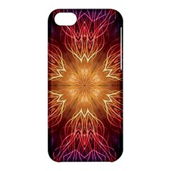 Fractal Abstract Artistic Apple Iphone 5c Hardshell Case by Sapixe