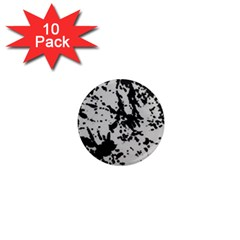 Fabric Texture Painted White Soft 1  Mini Magnet (10 Pack)