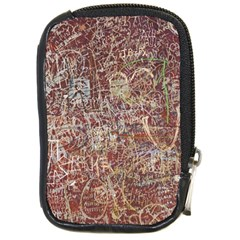 Metal Article Figure Old Red Wall Compact Camera Cases