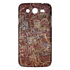 Metal Article Figure Old Red Wall Samsung Galaxy Mega 5 8 I9152 Hardshell Case  by Sapixe