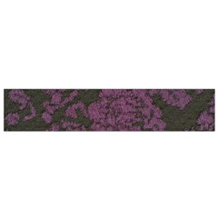 Purple Black Red Fabric Textile Small Flano Scarf