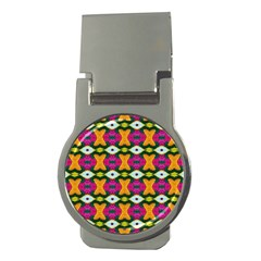 Artwork By Patrick Colorful 2 3 Money Clips (round)  by ArtworkByPatrick