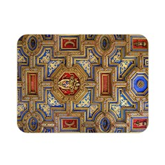 Church Ceiling Box Ceiling Painted Double Sided Flano Blanket (mini)