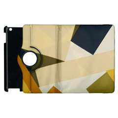 Fabric Textile Texture Abstract Apple Ipad 3/4 Flip 360 Case