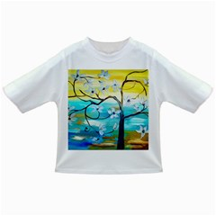 Oil Painting Tree Flower Infant/toddler T Shirts