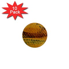 Fabric Textile Texture Abstract 1  Mini Magnet (10 Pack)