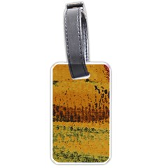 Fabric Textile Texture Abstract Luggage Tags (two Sides) by Sapixe