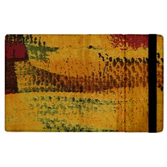 Fabric Textile Texture Abstract Apple Ipad 2 Flip Case