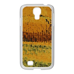 Fabric Textile Texture Abstract Samsung Galaxy S4 I9500/ I9505 Case (white)