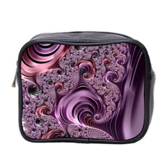 Abstract Art Fractal Art Fractal Mini Toiletries Bag 2 Side by Sapixe