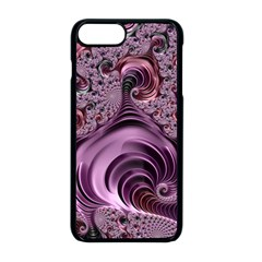 Abstract Art Fractal Art Fractal Apple Iphone 8 Plus Seamless Case (black)