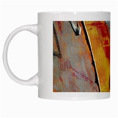 Painting Macro Color Oil Paint White Mugs