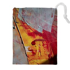 Painting Macro Color Oil Paint Drawstring Pouches (xxl) by Sapixe