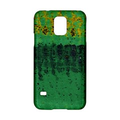 Green Fabric Textile Macro Detail Samsung Galaxy S5 Hardshell Case  by Sapixe