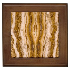 Marble Wall Surface Pattern Framed Tiles