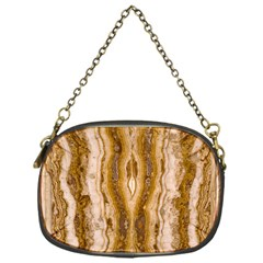 Marble Wall Surface Pattern Chain Purses (one Side)  by Sapixe