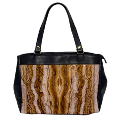 Marble Wall Surface Pattern Office Handbags
