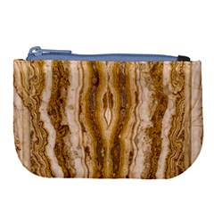 Marble Wall Surface Pattern Large Coin Purse