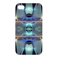 Abstract Glow Kaleidoscopic Light Apple Iphone 4/4s Hardshell Case