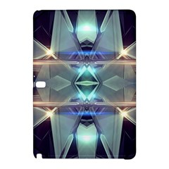 Abstract Glow Kaleidoscopic Light Samsung Galaxy Tab Pro 12 2 Hardshell Case by Sapixe