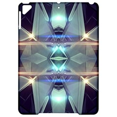 Abstract Glow Kaleidoscopic Light Apple Ipad Pro 9 7   Hardshell Case by Sapixe