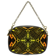 Abstract Glow Kaleidoscopic Light Chain Purses (one Side)  by Sapixe