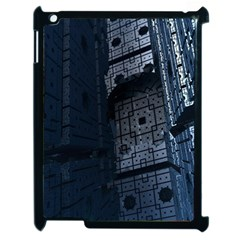 Graphic Design Background Apple Ipad 2 Case (black) by Sapixe