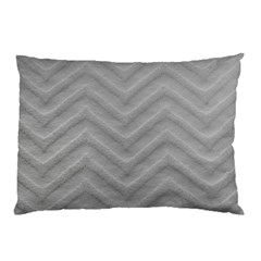 White Fabric Pattern Textile Pillow Case (two Sides) by Sapixe