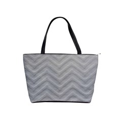 White Fabric Pattern Textile Shoulder Handbags by Sapixe