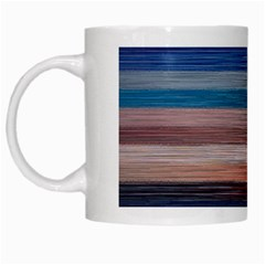Background Horizontal Lines White Mugs