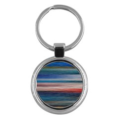 Background Horizontal Lines Key Chains (round)  by Sapixe