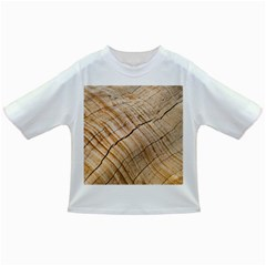 Abstract Brown Tree Timber Pattern Infant/toddler T Shirts