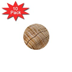 Abstract Brown Tree Timber Pattern 1  Mini Buttons (10 Pack)