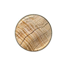 Abstract Brown Tree Timber Pattern Hat Clip Ball Marker (4 Pack)