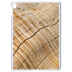 Abstract Brown Tree Timber Pattern Apple Ipad Pro 9 7   White Seamless Case by Sapixe