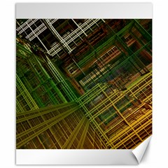 City Forward Urban Planning Canvas 8  X 10  by Sapixe
