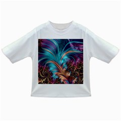 Feather Fractal Artistic Design Infant/toddler T Shirts