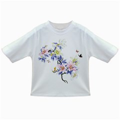 Lily Hand Painted Iris Infant/toddler T Shirts