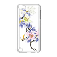 Lily Hand Painted Iris Apple Ipod Touch 5 Case (white) by Sapixe