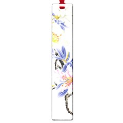 Lily Hand Painted Iris Large Book Marks