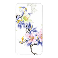 Lily Hand Painted Iris Samsung Galaxy Note 3 N9005 Hardshell Back Case