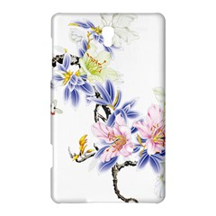 Lily Hand Painted Iris Samsung Galaxy Tab S (8 4 ) Hardshell Case