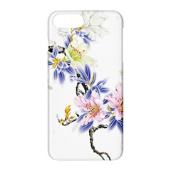 Lily Hand Painted Iris Apple Iphone 7 Plus Hardshell Case