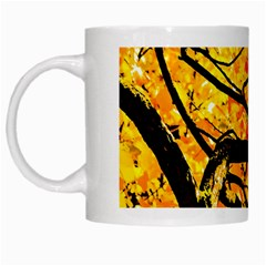 Golden Vein White Mugs
