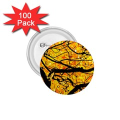 Golden Vein 1 75  Buttons (100 Pack)  by FunnyCow
