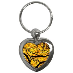Golden Vein Key Chains (heart)
