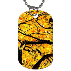 Golden Vein Dog Tag (one Side)